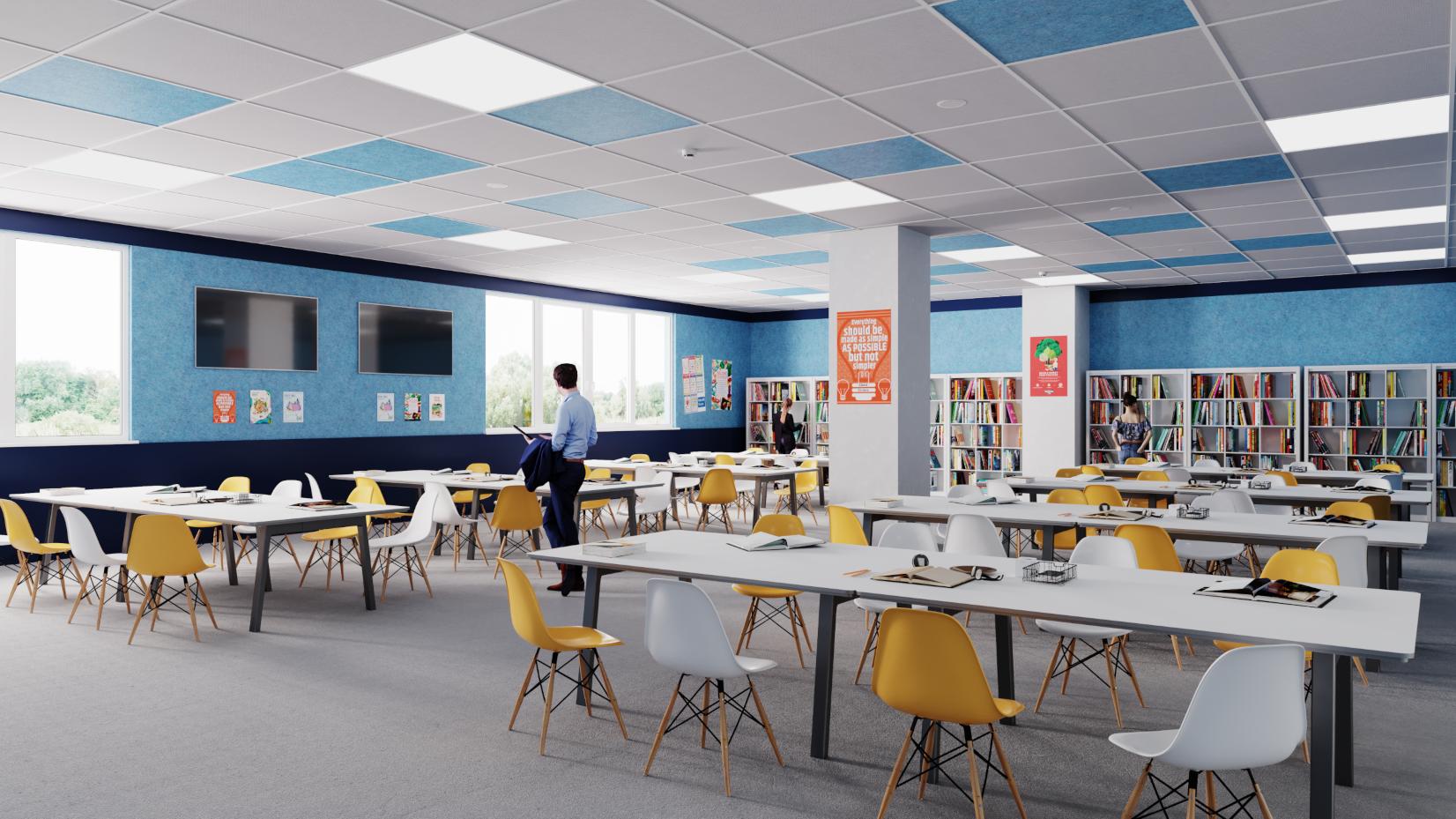 dECO Ceiling Tiles Image